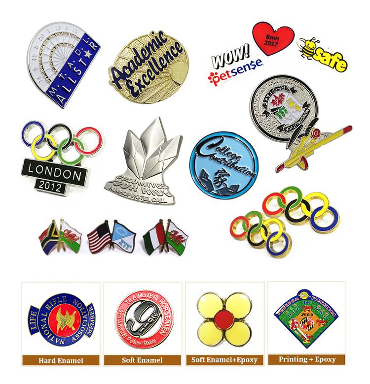 product show - enamel pins